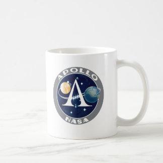 Logotipo del programa Apollo Taza