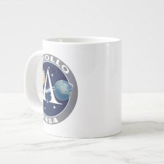 Logotipo del programa Apollo Taza Extra Grande