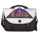 Logotipo del programa de Euclid Bolsas Para Portatil