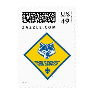 Logotipo del programa de los Cub Scout Sellos Postales