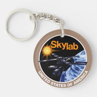 Logotipo del programa de Skylab Llavero Redondo Acrílico A Doble Cara