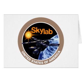Logotipo del programa de Skylab Tarjetón