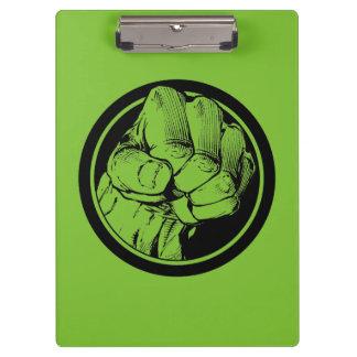 Logotipo del puño del armatoste de los vengadores