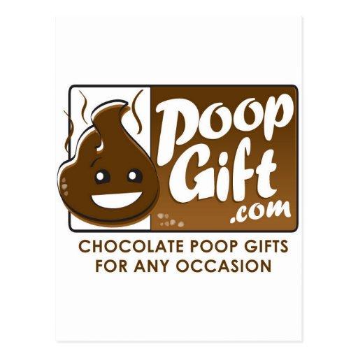 Logotipo del regalo del impulso pequeño postal