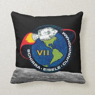 Logotipo del remiendo de la misión de la NASA de Cojín Decorativo