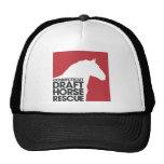 Logotipo del rescate del caballo de proyecto de Co Gorra