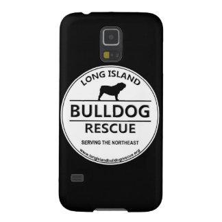 Logotipo del rescate del dogo de Long Island Carcasas Para Galaxy S5
