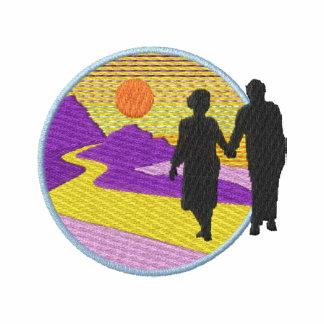 Logotipo del retiro camiseta polo bordada