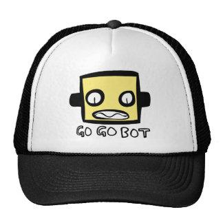 Logotipo del robot de GoGoBot Gorro