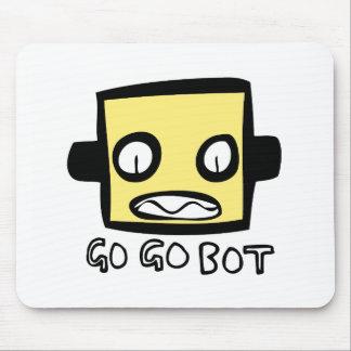 Logotipo del robot de GoGoBot Tapete De Ratón