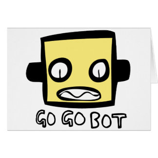 Logotipo del robot de GoGoBot Tarjetas