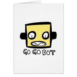 Logotipo del robot de GoGoBot Tarjeta