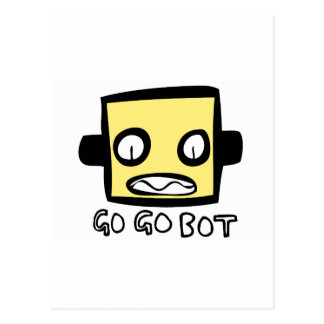 Logotipo del robot de GoGoBot Postal