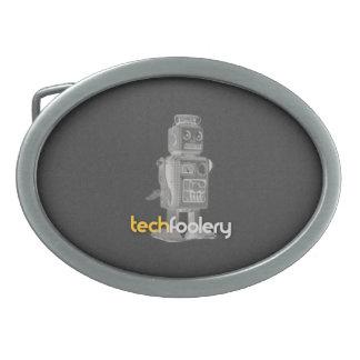 Logotipo del robot del TF - hebilla del cinturón Hebilla Cinturon Oval