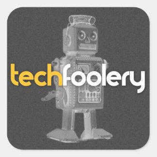 Logotipo del robot del TF - pegatinas