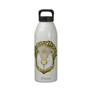 Logotipo del rock-and-roll del vintage botella de agua reutilizable