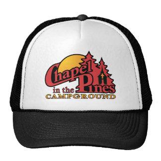 Logotipo del rojo del CIP Gorras