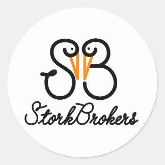 Logotipo del SB Etiqueta Redonda