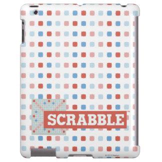 Logotipo del Scrabble del vintage Funda Para iPad