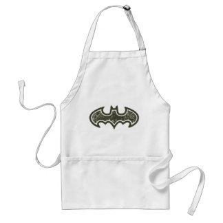 Logotipo del símbolo el | Nouveau de Batman Delantal