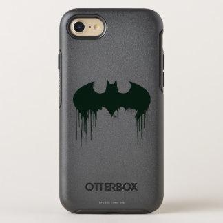 Logotipo del símbolo el | Spraypaint de Batman Funda OtterBox Symmetry Para iPhone 7
