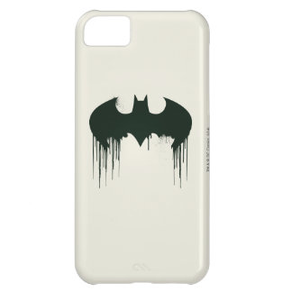 Logotipo del símbolo el   Spraypaint de Batman Funda Para iPhone 5C