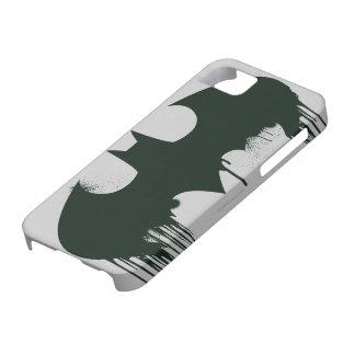 Logotipo del símbolo el   Spraypaint de Batman iPhone 5 Fundas