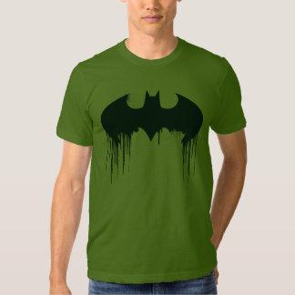 Logotipo del símbolo el | Spraypaint de Batman Playera