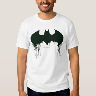 Logotipo del símbolo el | Spraypaint de Batman Remeras