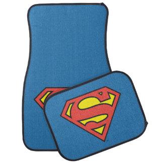 Logotipo del superhombre del S-Escudo el | del Alfombrilla De Auto