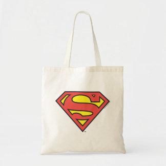 Logotipo del superhombre del S-Escudo el | del Bolsa Tela Barata