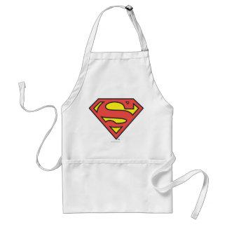 Logotipo del superhombre del S-Escudo el | del Delantal