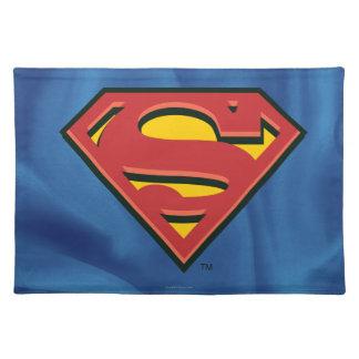 Logotipo del superhombre del S-Escudo el | del Mantel