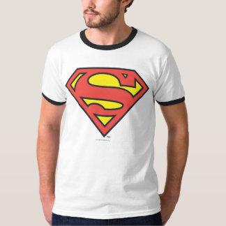 Logotipo del superhombre del S-Escudo el | del Polera