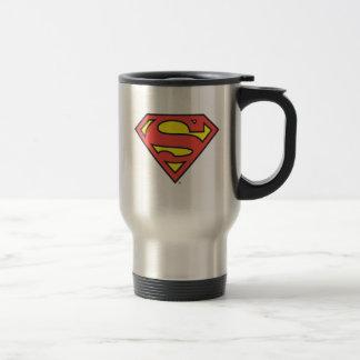 Logotipo del superhombre del S-Escudo el | del Taza De Viaje