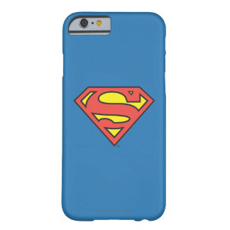 Logotipo del superhombre funda de iPhone 6 barely there