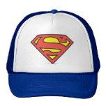 Logotipo del superhombre gorros bordados