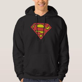 Logotipo del superhombre jersey con capucha