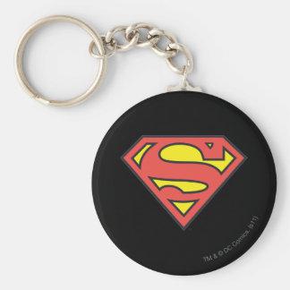 Logotipo del superhombre llaveros personalizados