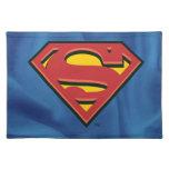 Logotipo del superhombre mantel