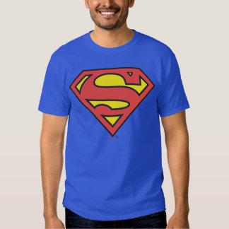 Logotipo del superhombre playera