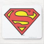 Logotipo del superhombre tapetes de ratones
