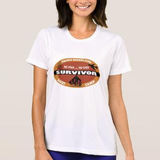 Logotipo del superviviente de Bootcamp de Jin Camiseta
