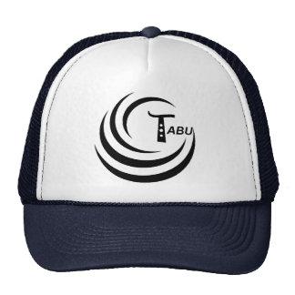 Logotipo del tabú ningún png GRANDE del claro tras Gorras