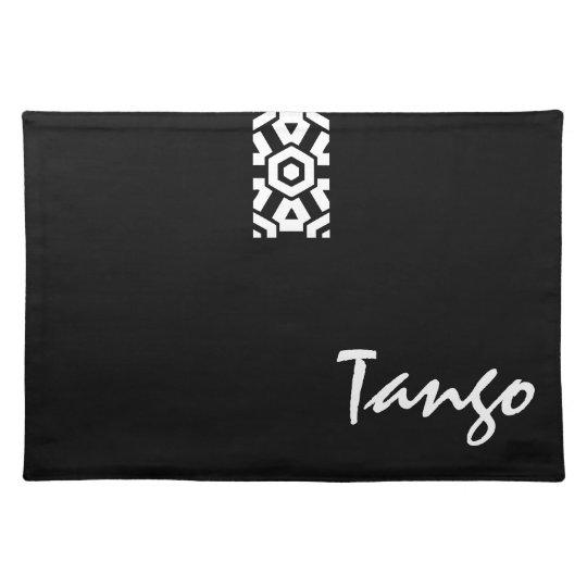 Logotipo del tango manteles