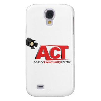 Logotipo del teatro de la comunidad de Abilene Samsung Galaxy S4 Cover