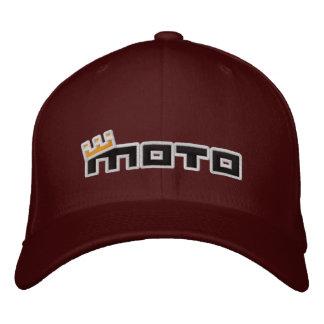 Logotipo del texto básico del cm gorra de beisbol