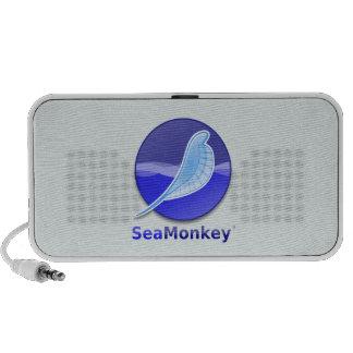 Logotipo del texto de SeaMonkey Altavoces De Viaje