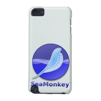 Logotipo del texto de SeaMonkey Funda Para iPod Touch 5G