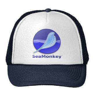 Logotipo del texto de SeaMonkey Gorros
